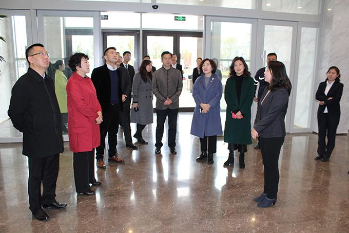 锦州市总工会领导莅临调研