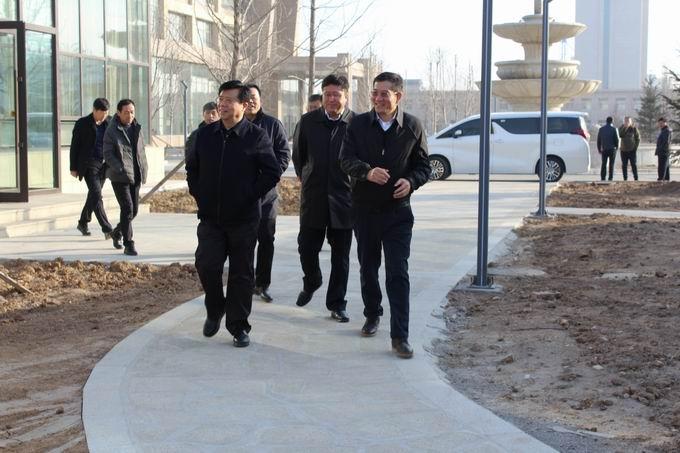 锦州市副市长杨林莅临我司检查指导工作