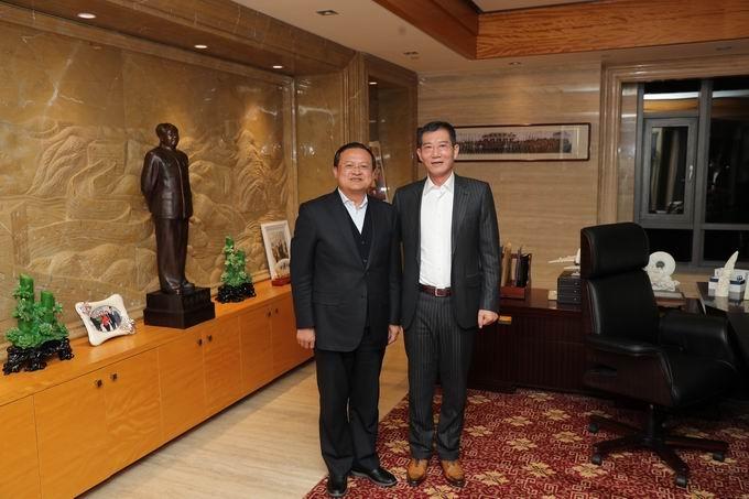 锦州市委常委、市常务副市长任军亲切接见禹敬华董事长